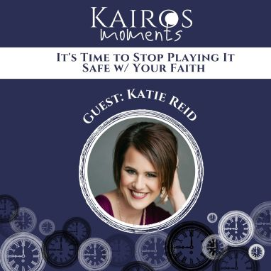 Katie M. Reid is the guest on this episode of Kairos Moments.