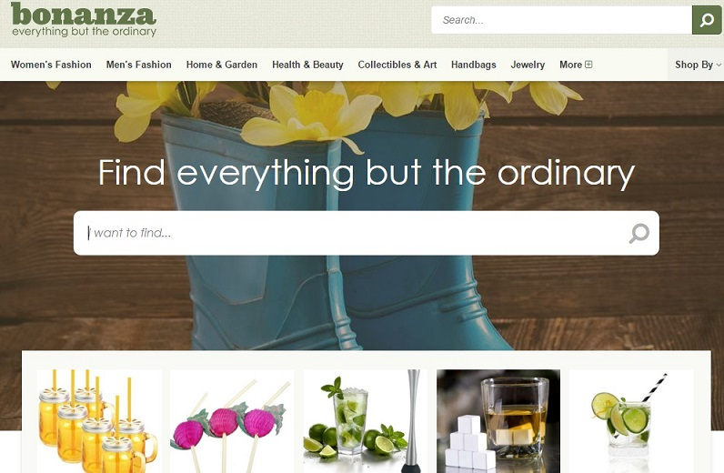 bonanza site for selling craft online