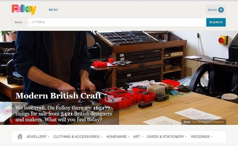 folksy online handmade item selling
