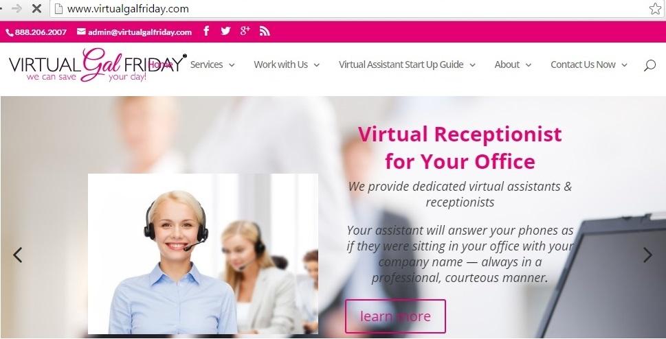 virtualgalfriday virtual assistance job online