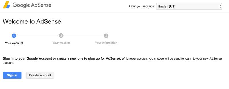 create-adsense-account
