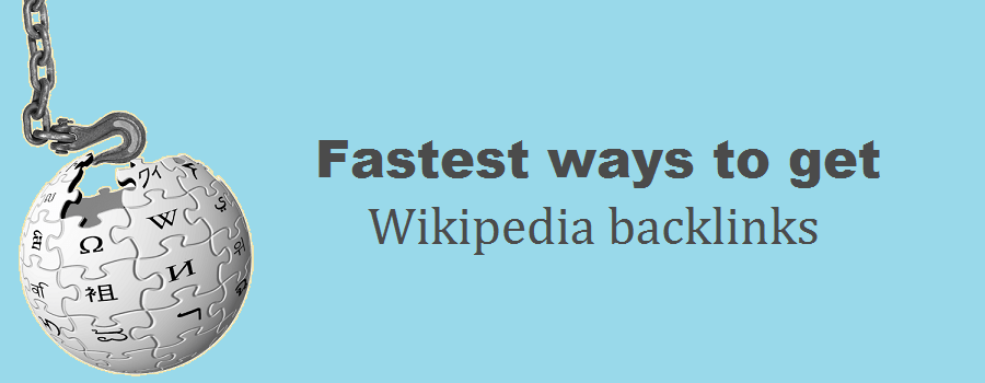 The simplest & fastest ways to Get Wikipedia Backlinks