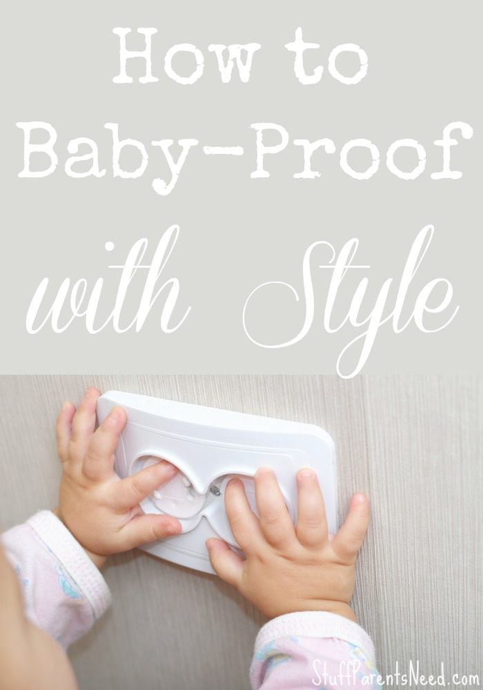 how to baby-proof with style