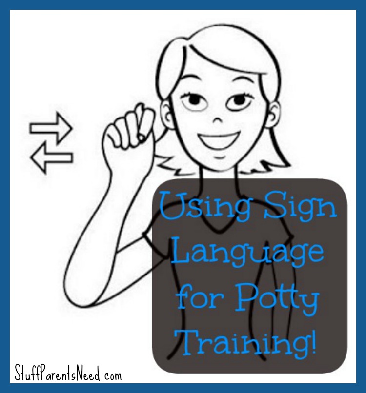 sign language potty training