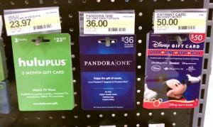 pandora one gift subscription