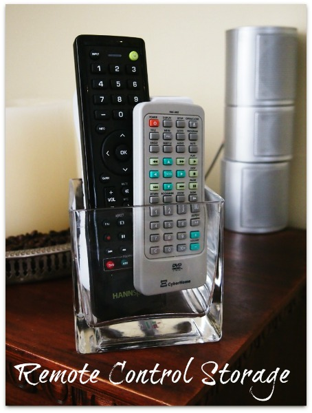 remote control storage