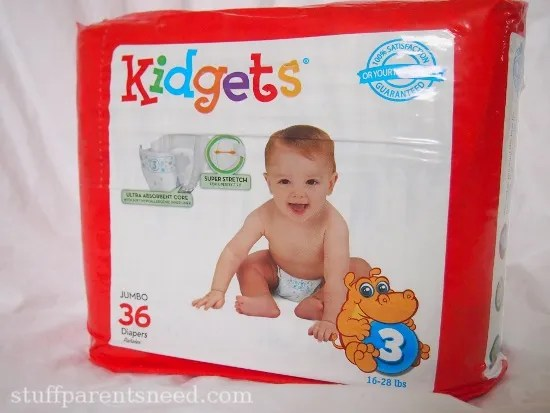 Kidgets size 3 diapers