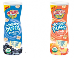 earths best yogurt puffs blueberry peach