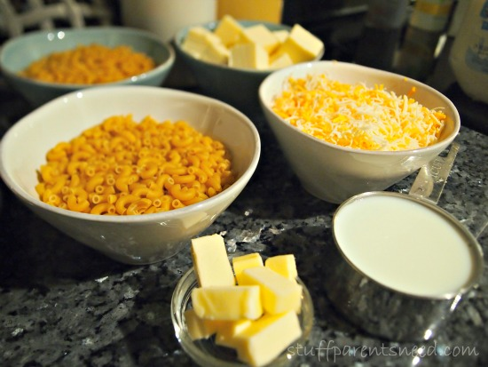 kid-friendly mac and cheese ingredients