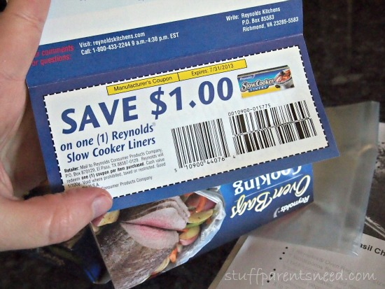 Reynolds Oven Bags coupon