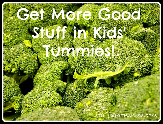 pic of broccoli: encouraging healthy habits for kids