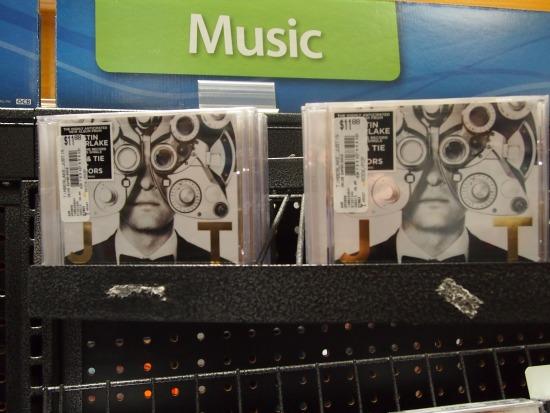 #JT2020 album at Walmart