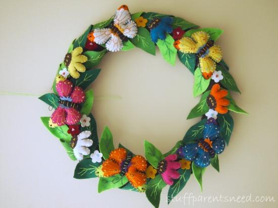 butterfly wreath butterfly gifts
