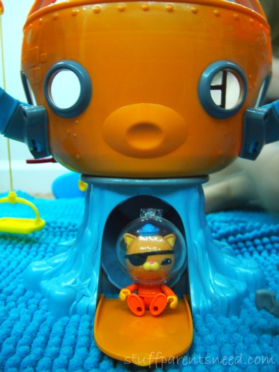 octonauts octopod toy and Kwaziii