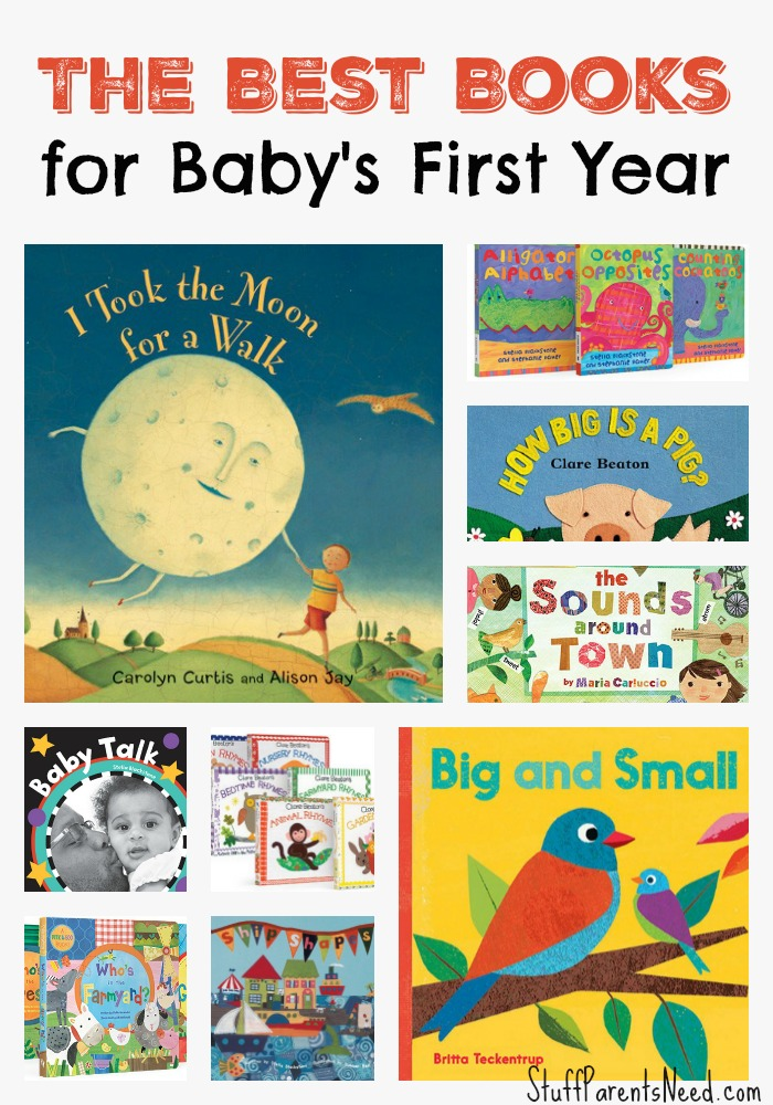 baby books for baby showers