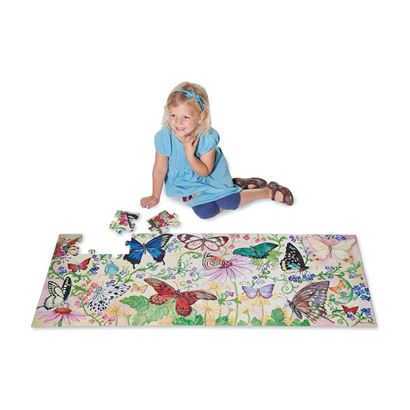 butterfly gift ideas floor puzzle