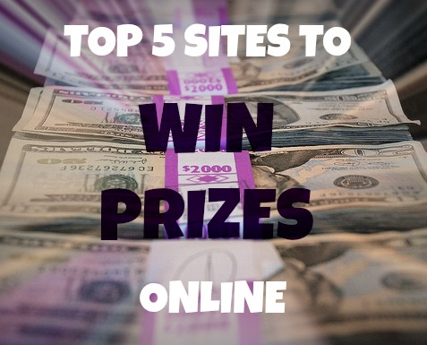 list of 5 sites to win prizes online