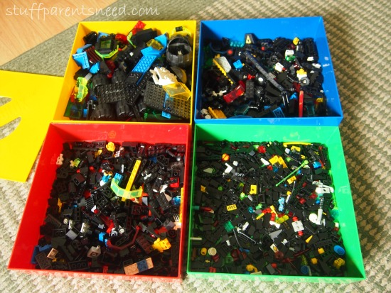 LEGO storage compartments Box4Blox