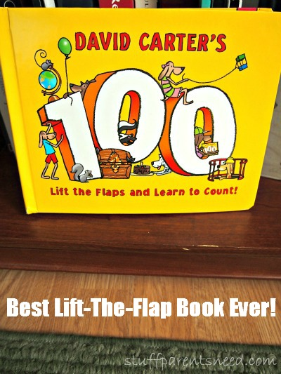 counting lift-the-flap book David Carter's 100