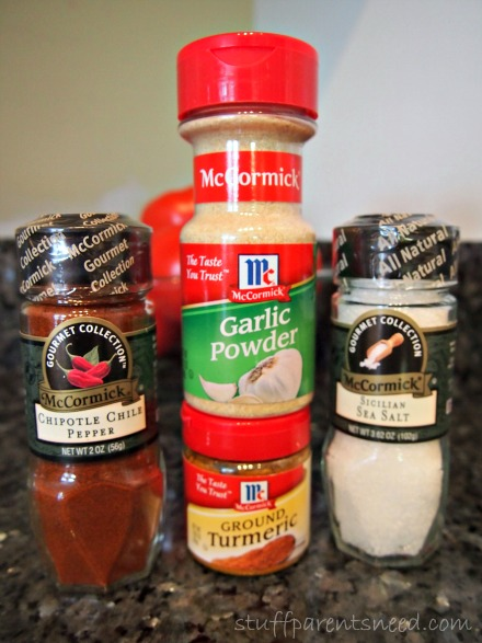 McCormick spices turmeric