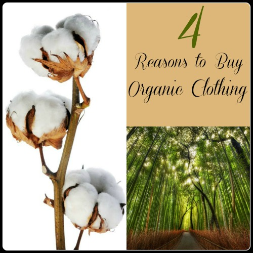 reasons to buy organic cotton and organic bamboo