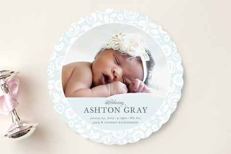 birth announcements from minted.com