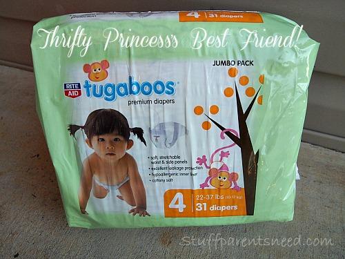 Rite Aid #Tugaboos diapers