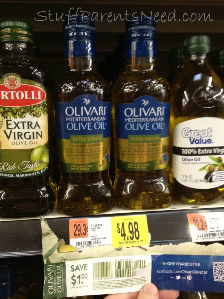 olive oil with All You coupon