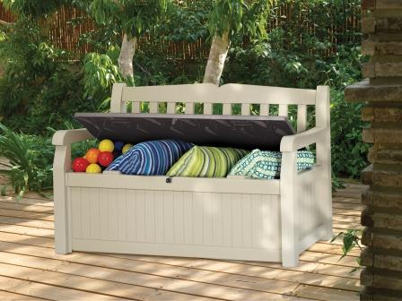 outdoor storage solution: deck box