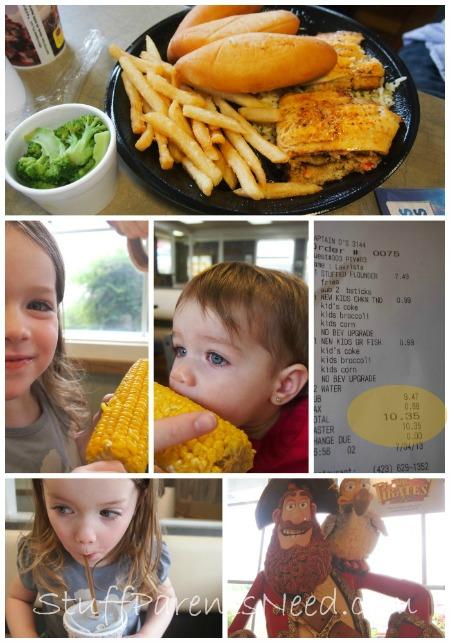 kids eat cheap at captain d's on thursdays