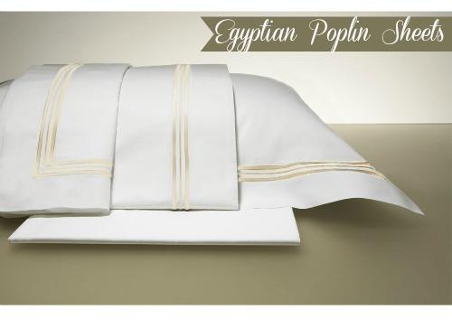 luxury linens egyptian poplin