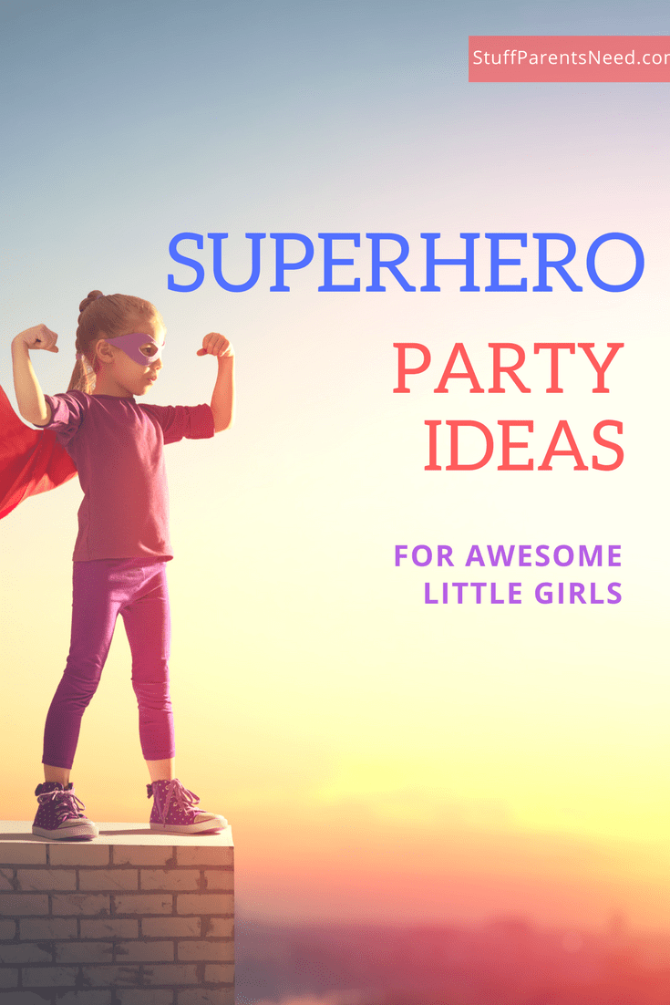 superhero party ideas girls