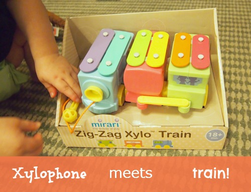 xylophone train