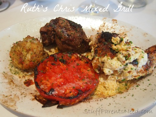 ruth's chris mixed grill