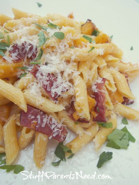 ronco hidden veggies bacon and butternut squash penne