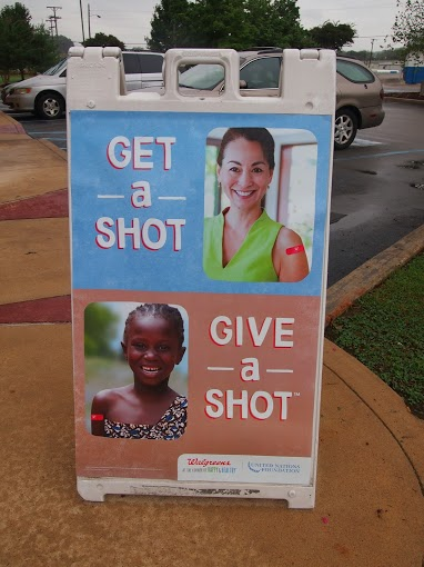 walgreens #giveashot #shop 2