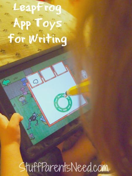 leapfrog app toys for writing