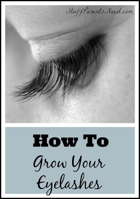long eyelashes how to grow them
