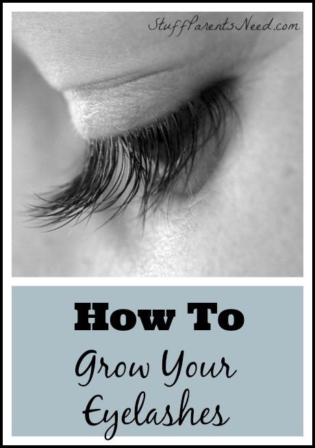 long eyelashes how to grow them