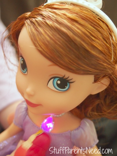 sofia the first talking doll and animal friends 2