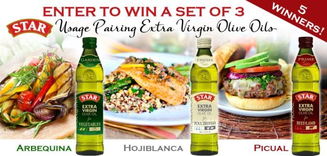 #shop star olive oil giveaway