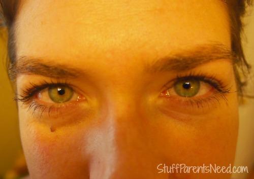 xlash eyelash serum after 5