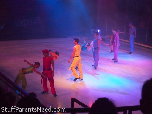 royal caribbean freedom of the seas ice skaters