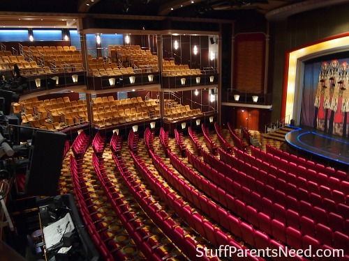 royal caribbean freedom of the seas theater