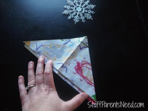 crayola pan lining paper craft 7