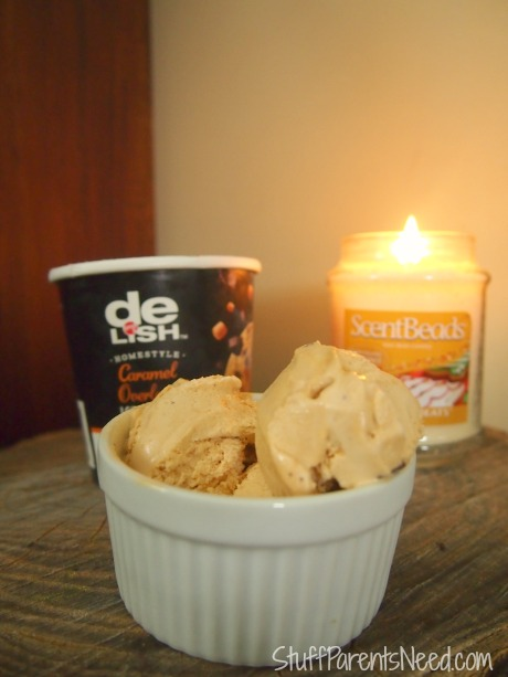 #shop #happyalltheway good & delish ice cream and wax bead candle