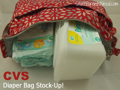 pampers bought at CVS