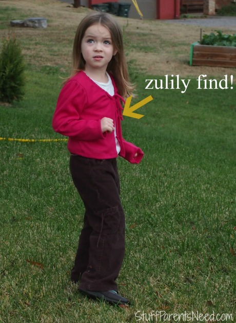 zulily children's fashion pink sweater