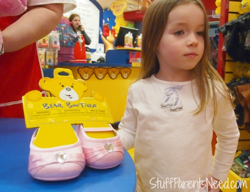 build a bear pink shoes
