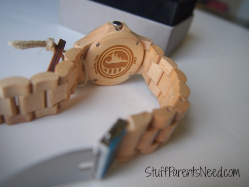 jord ely series maple wood watch